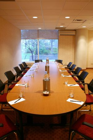 Shot of an upscale conference room Stock Photo - 220520