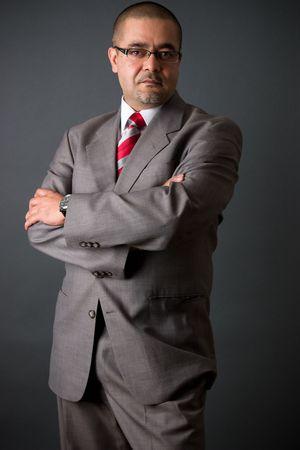 Portrait of a confident east indian businessman 스톡 콘텐츠