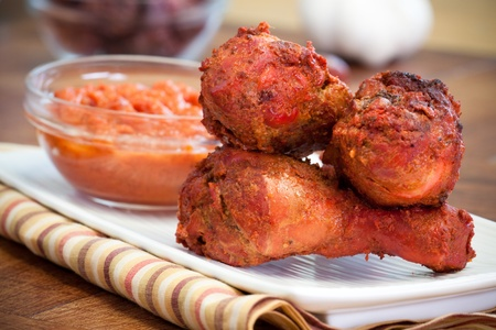 Chicken drumsticks made with the legendary chicken tikka masala. An all-time favorite Indian food.