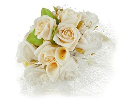 wedding flowers: wedding bouquet for Valentines Day
