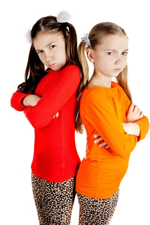 girls quarreled and insulted each other