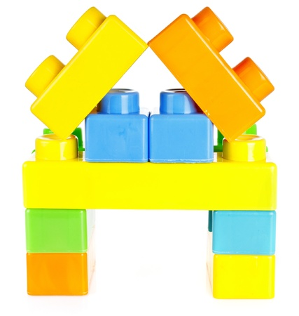 toy for children colorful constructor photo