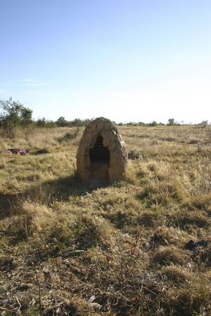 angola: Traditional oven Angola