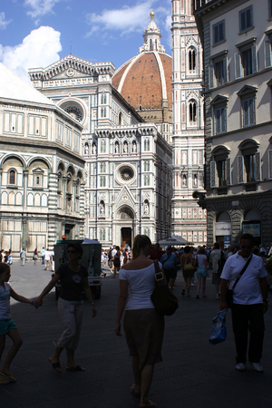 firenze: Some of interest buildings and views in Firenze, Italy