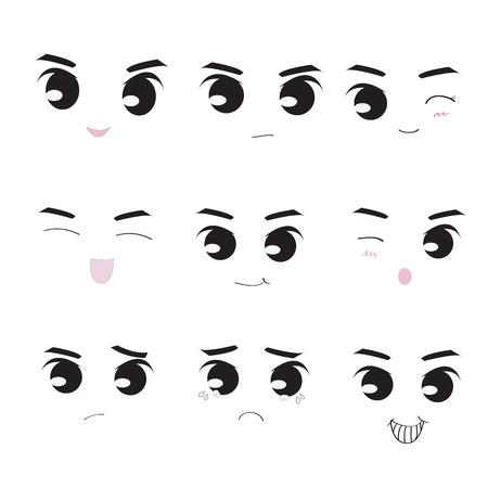 sneer: icon face Illustration