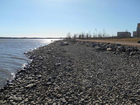 shore: Manmade sea shore
