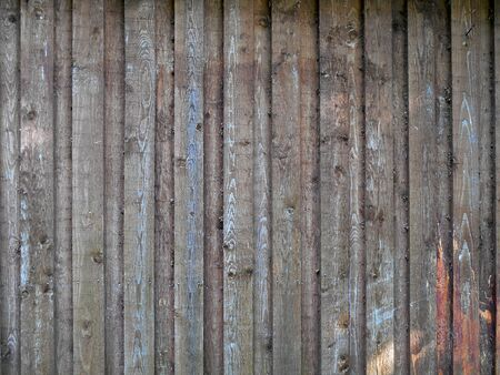 discolored: Old discolored wooden board wall Stock Photo