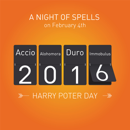 harry: Background for Harry Potter Book Night: A Night of Spells on February 4th 2016