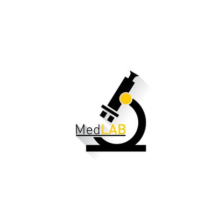 med: Microscope Medical laboratory