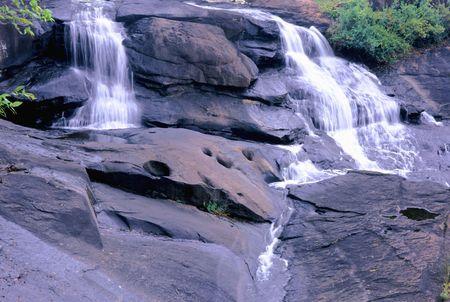 water falls at high falls park ga photo