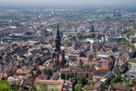 pano: historic city of Germany (Freiburg)