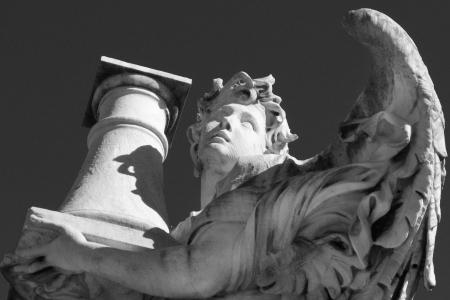 flagellation: Angel, flagellation of Christ