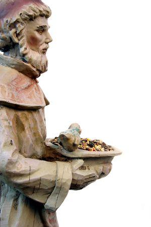 St. Francis Garden Statue Stock Photo - 2905615