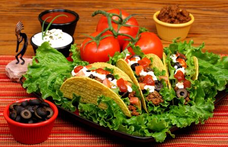 Taco Dinner with Side Dishes