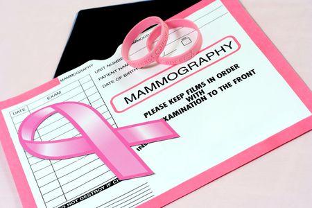 Breast Cancer Awareness Abstract Stock Photo - 3283892