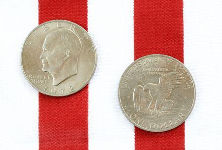 eisenhower: Vintage Silver Dollars circa 1972