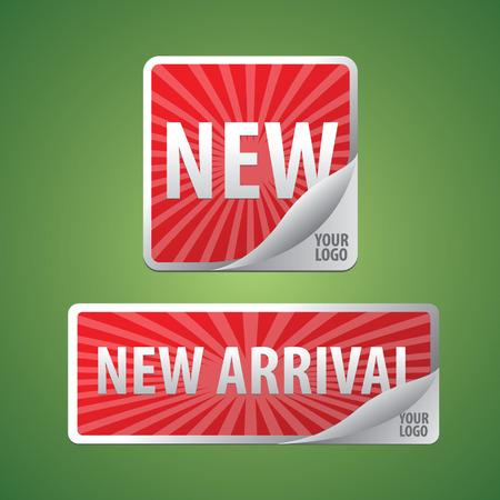 New Arrival Icon, Button, Sticker or Label