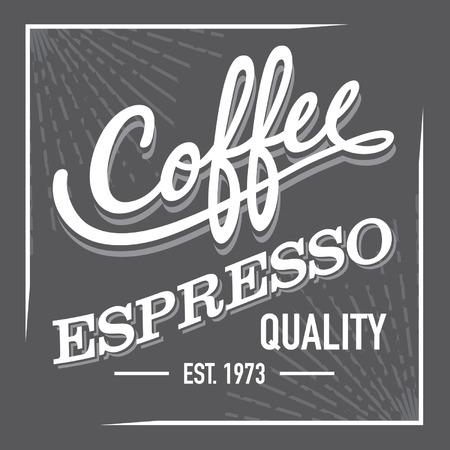 finest: Black and White Finest Premium Coffee Espresso Sign Label