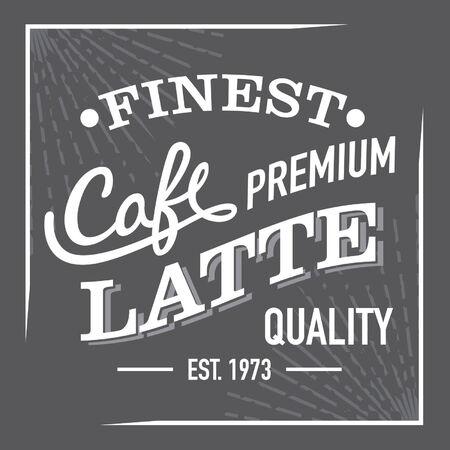 finest: In bianco e nero Finest Premium Caff� Latte Accedi Label
