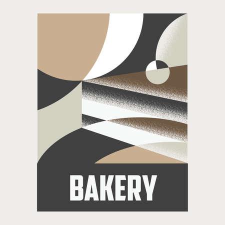bakery poster Vector