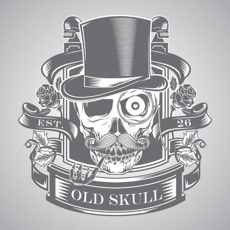 skull vector Banco de Imagens - 36202827