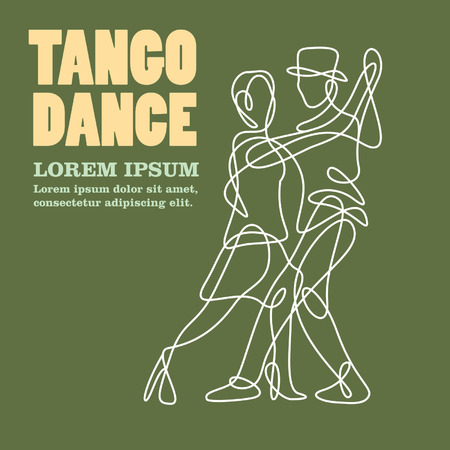 tango dance: tango dance