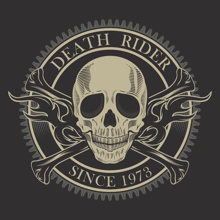 オートバイ ラベル