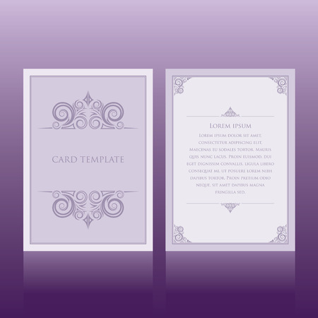 greeting card background: invitation card