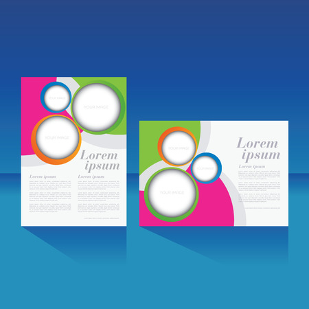 layout: magazine cover, brochure, flyer, poster  layout template