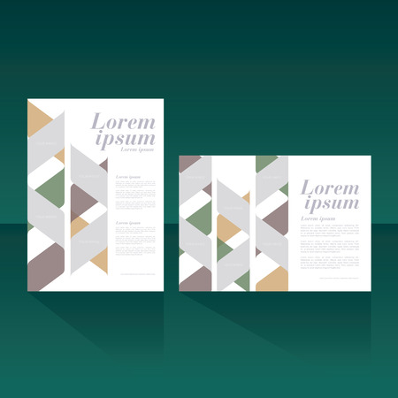 magazine cover, brochure, flyer, poster  layout template