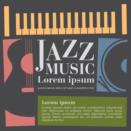 jazz music Banco de Imagens - 44575408