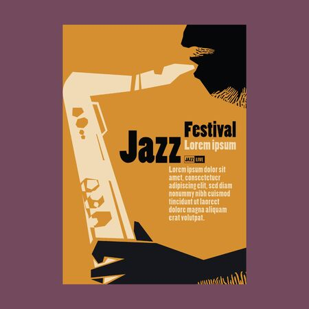 Jazz Festival Poster Illustration