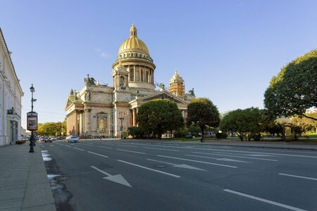 isaac s: Isaac s Cathedral in St  Petersburg , Russia