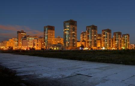 multi storey: New residential area in Saint - Petersburg  Editorial