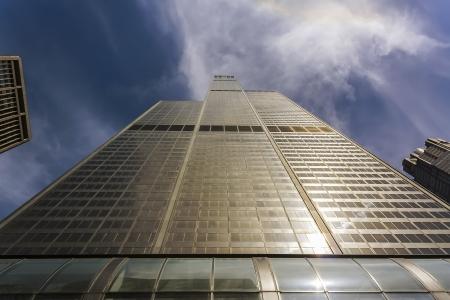 Wolkenkrabber in New York Stockfoto
