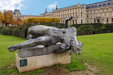 La Riviere is a sculpture from French (of Catalan origin) artist Aristide Maillol. photo