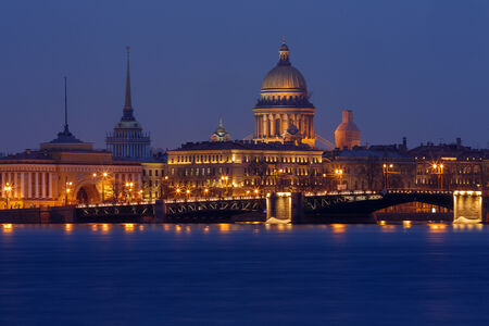 Sankt Petersburg most important landmarks Hermitage Isaac Cathedral and Admiralty