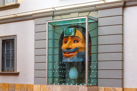 salvador dali: Figueres, Spain - June 17, 2014: Dali Museum in Figueres. Museum was opened on September 28, 1974 and houses largest collection of works by Salvador Dali. Editorial