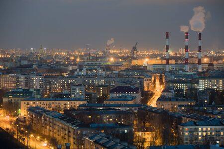 St. Petersburg. Rusland. Uitzicht vanaf de hoogte