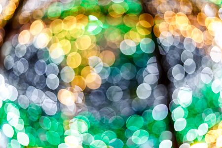 Bokeh lights.  Christmas and the New Year