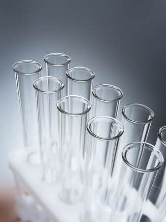 Laboratory test tubes,science background abstract