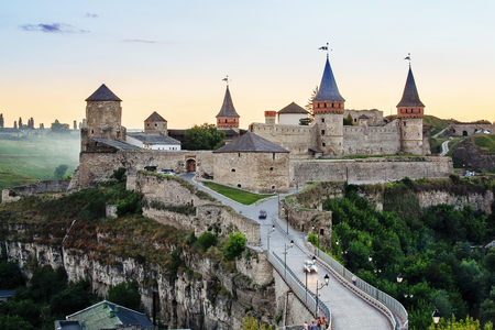 Kamianets-Podilskyi Castle is a former Ruthenian-Lithuanian castle located in the historic city of Kamianets-Podilskyi, Ukraine