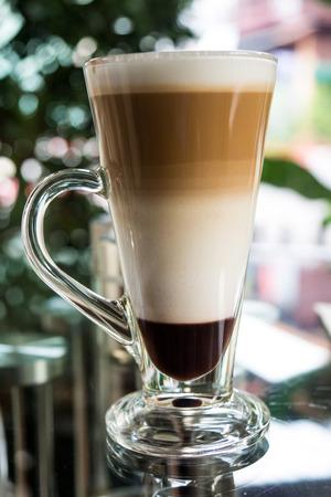 three layer: Mocha coffee three layer