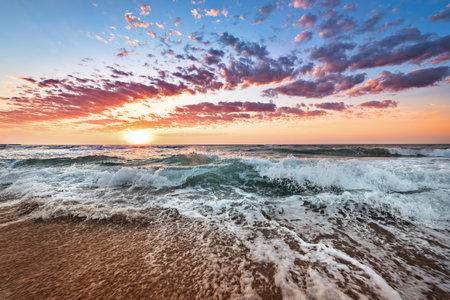 Sky background on sunset. Nature composition! Foto de archivo