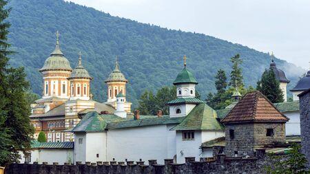 Sinaia Orthodox Monastery. Sinaia, Prahova County Romania