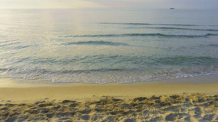 Nature beautiful Sand beach background Stock Photo