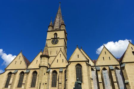 Evangelical Cathedral of Saint Mary in Sibiu. Sibiu, Sibiu County, Romania.