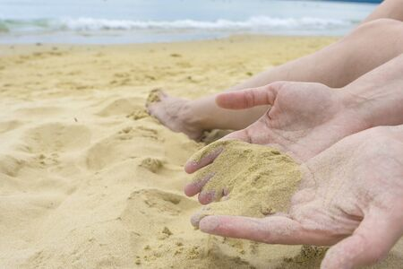 From the hand of the sand