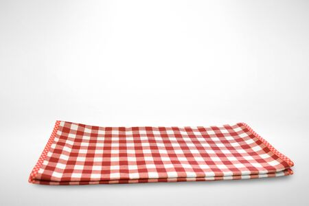 Plaid with red texture