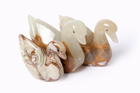 onyx: Swan made of onyx... At the beginning of a civilisation onyx was a sacred stone at the different people.